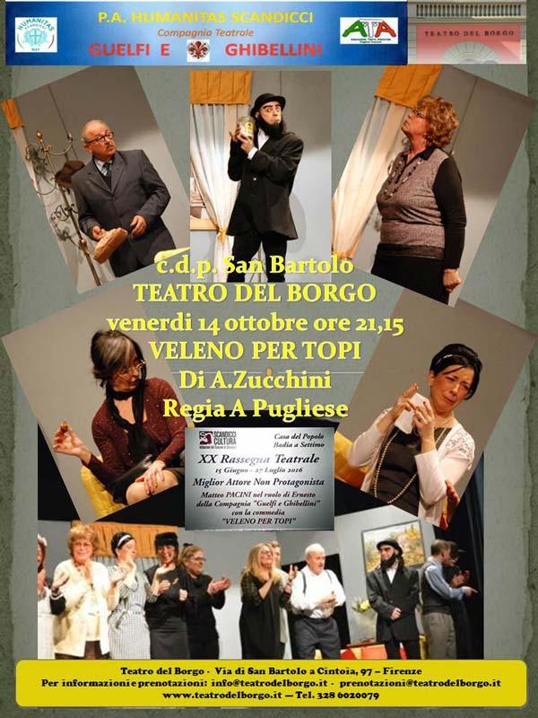 Commedia in vernacolo Veleno per topi