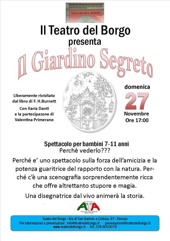 Il giardino segreto Teatro del Borgo
