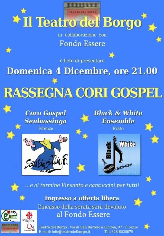 coro gospel teatro del borgo