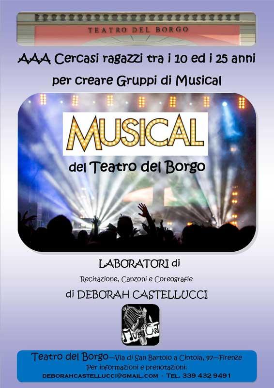 laboratorio musical Teatro del Borgo