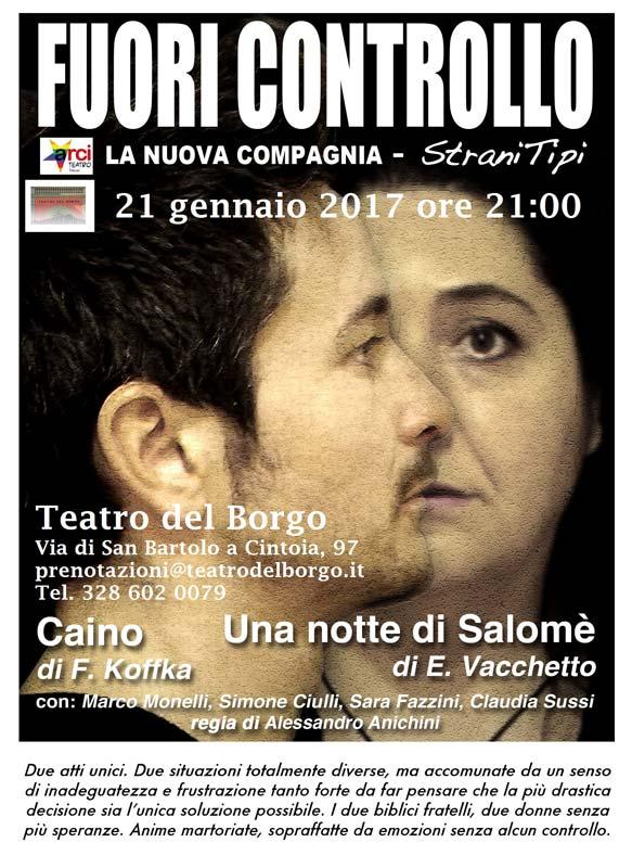 Strani tipi Fuori Controllo Teatro del Borgo