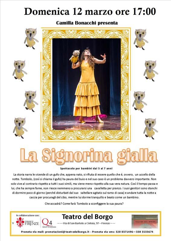La Signorina gialla Teatro del Borgo