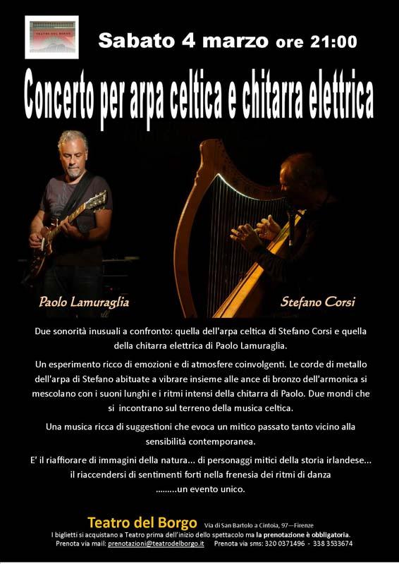 concerto-per-arpa-celtica-e-chitarra-elettrica_Teatro-del-Borgo_4-marzo