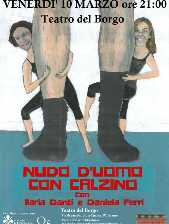 Nudo d'uomo con calzino - Teatro del Borgo