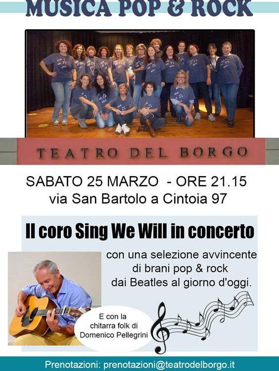 Sing we will Teatro del Borgo