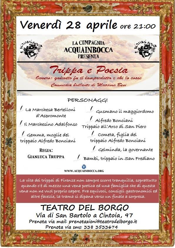 Trippa e Poesia Teatro del Borgo